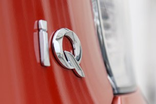 2012 Scion iQ badge