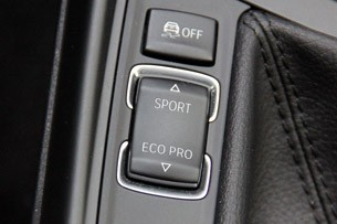 2012 BMW 1 Series Five-Door Sport and Eco Pro toggle