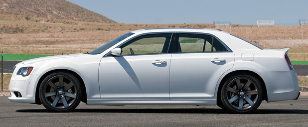 2012 Chrysler 300 SRT8 side view