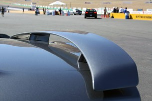 2012 Dodge Charger SRT8 rear spoiler