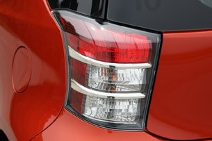 2012 Scion iQ taillights