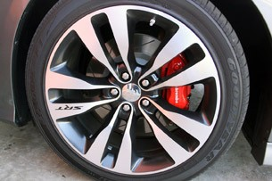 2012 Dodge Charger SRT8 wheel