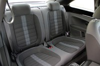 2012 Volkswagen Beetle Turbo rear seats