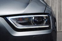 2011 Audi Q3 headlight