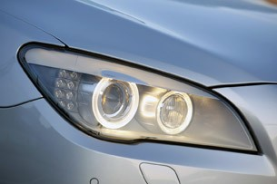 2011 BMW 740Li headlight