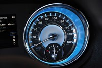 2012 Chrysler 300 SRT8 speedometer