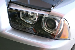 2012 Dodge Charger SRT8 headlight