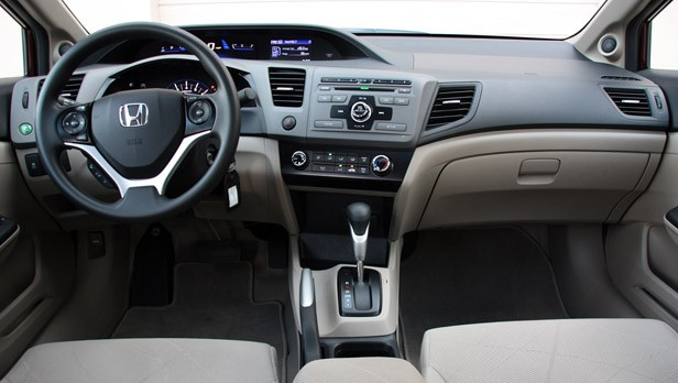 2012 Honda Civic EX Sedan interior