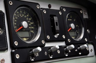 2012 Morgan 3 Wheeler gauges