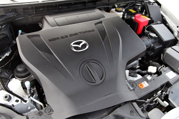 2011 Mazda CX-7 engine