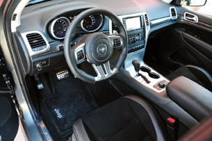 2012 Jeep Grand Cherokee SRT8 interior