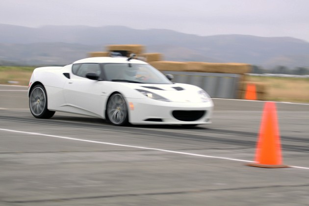 lotus evora s driven by the stig