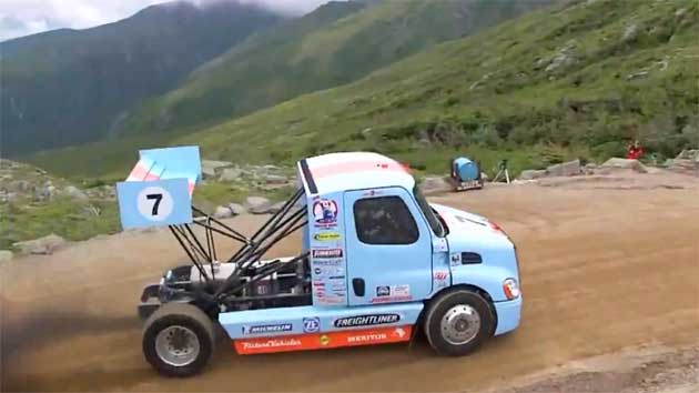Mike Ryan's Gulf Freightliner