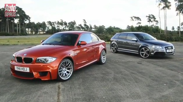 BMW 1 M Coupe vs Audi RS3