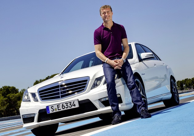 David Coulthard as Mercedes-AMG brand ambassador
