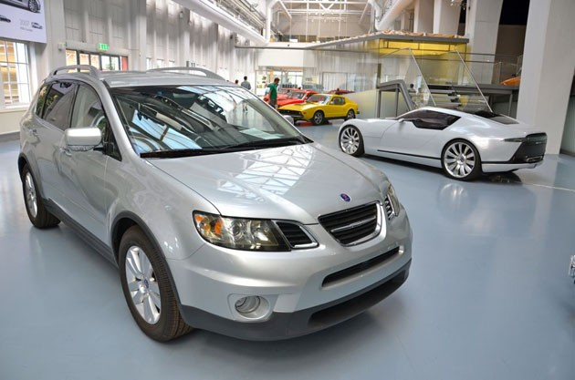 Saab unearths Subaru Tribeca-based 9-6 antecedent from a archives