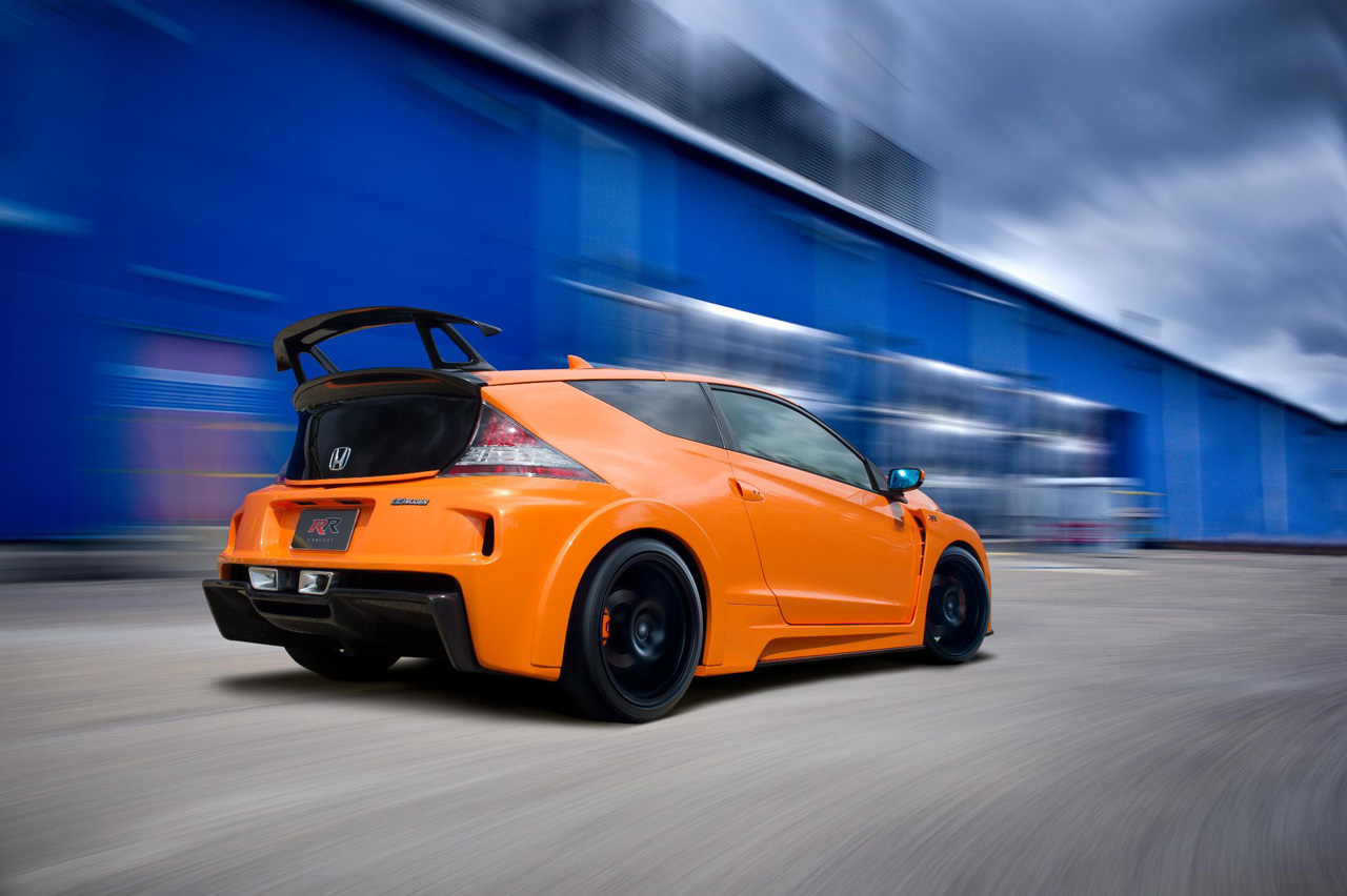 honda cr z mugen rr production hopes dashed autoblog. Black Bedroom Furniture Sets. Home Design Ideas
