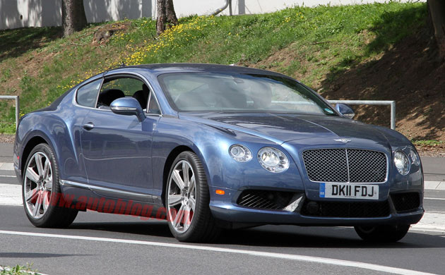 Bentley Continental GT Speed spy shots