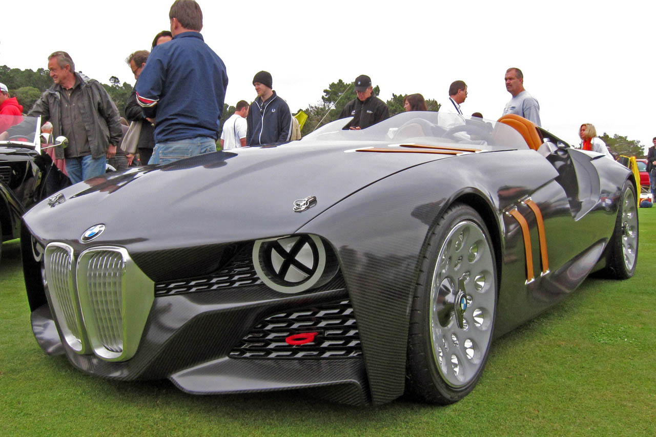 BMW 328 Hommage Concept touches down in Monterey - Autoblog