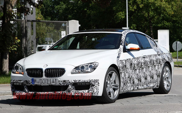 BMW 6 Series Gran Coupe M Sport spy shots