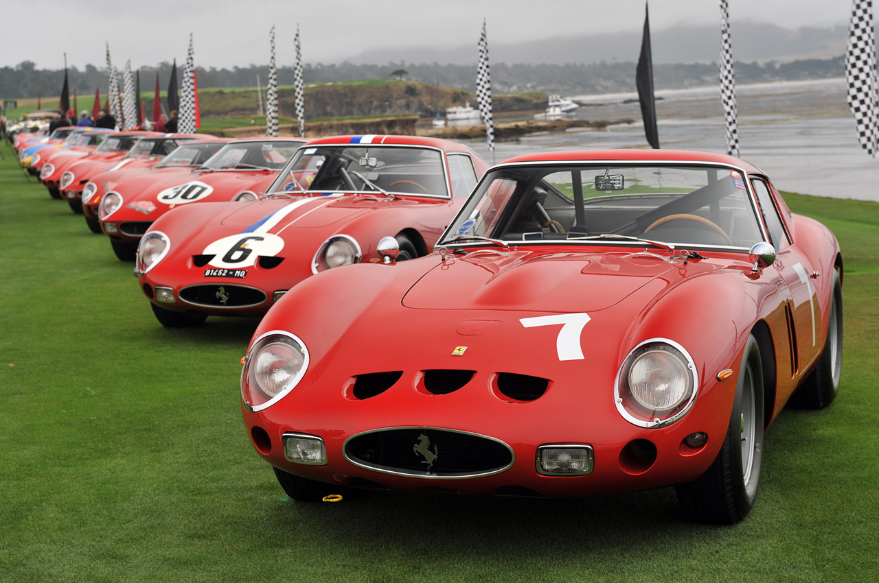 01 ferrari 250 gto pebble beach. Black Bedroom Furniture Sets. Home Design Ideas