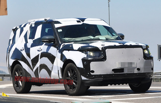 Land Rover Range Rover spy shots
