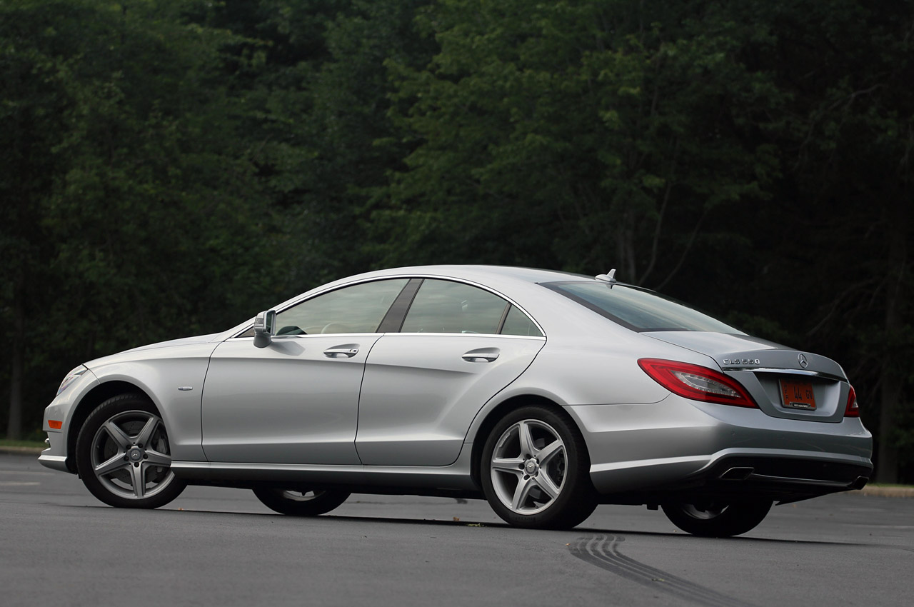 2012 mercedes benz cls550 w video autoblog