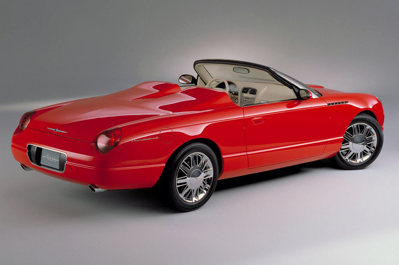 ford thunderbird sports roadster concept photo gallery. Cars Review. Best American Auto & Cars Review