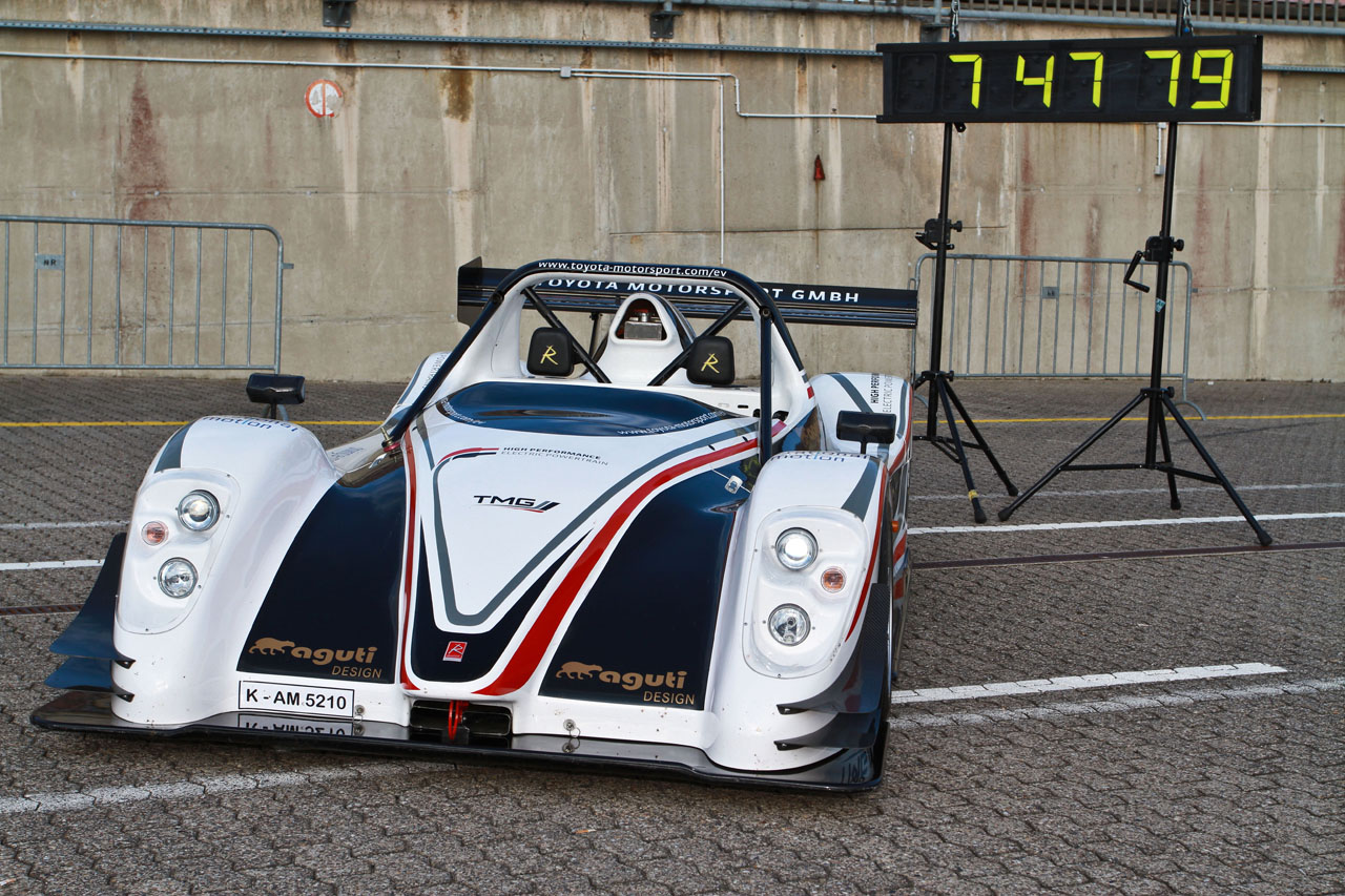 Toyota EV lap record at bwin wins with hekaton - youtube Nurburgring Photo Gallery - Autoblog