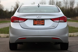 2011 Hyundai Elantra Limited rear view