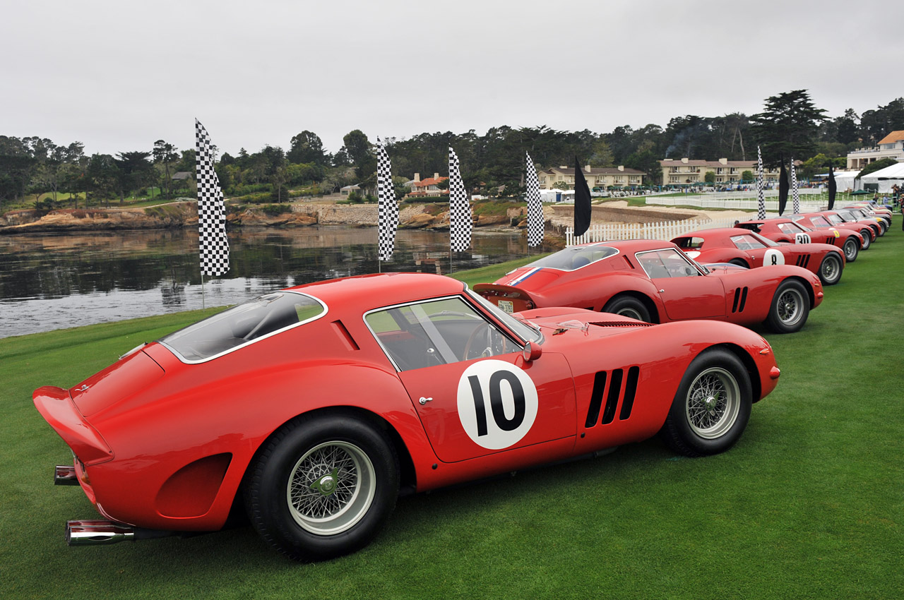 16 ferrari 250 gto pebble beach. Black Bedroom Furniture Sets. Home Design Ideas