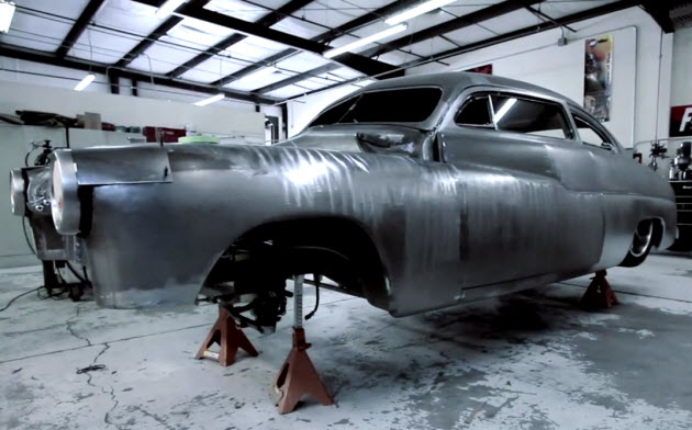 egarage 1950 mercury coupe