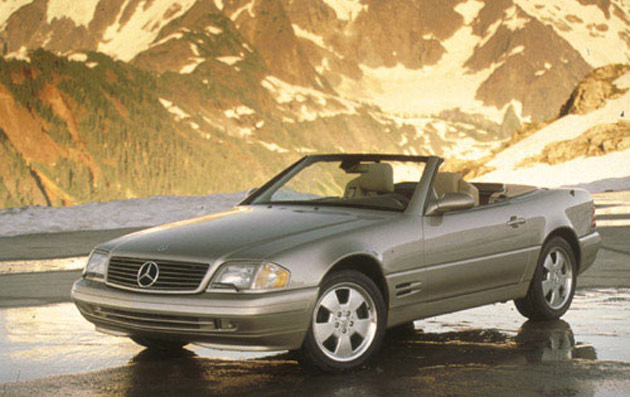 99 mercedes-benz sl500