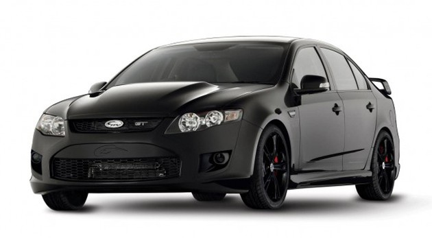 ford fpv gt black limited edition