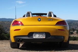 2012 BMW Z4 sDrive28i rear view