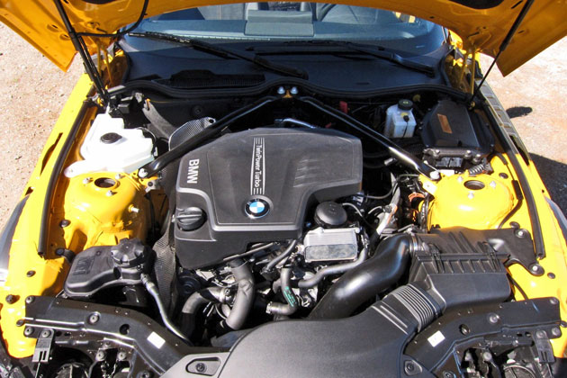 2012 BMW Z4 sDrive28i 2.0-liter four-cylinder TwinPower engine