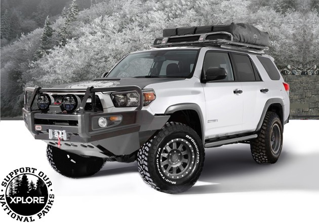 XPLORE ADVENTURE SERIES TOYOTA 4RUNNER HEADS FOR THE OUTDOORS