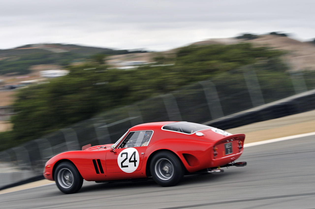 monterey 2011 ferrari 250 gto race at laguna seca photo gallery autoblog. Black Bedroom Furniture Sets. Home Design Ideas