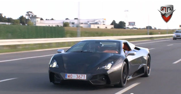 Arrinera supercar in Poland