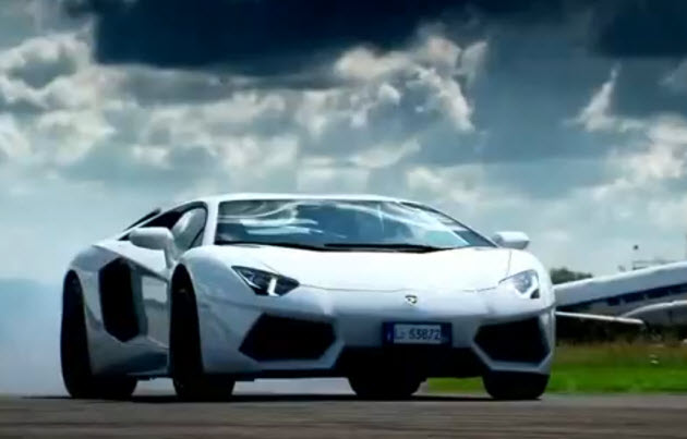 lamborghini aventador on top gear