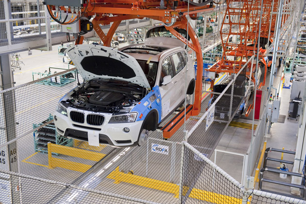 bmw spartanburg assembly plant