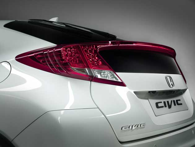 European 2012 Honda Civic teaser