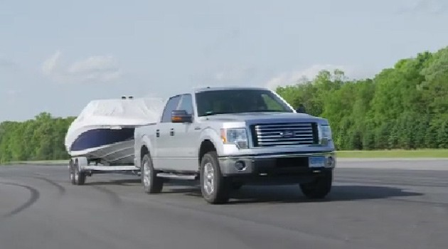 ecoboost ford f-150 towing 