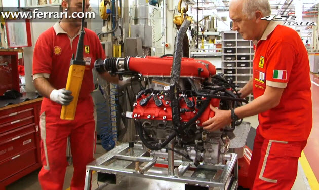 ferrari 458 italia engine