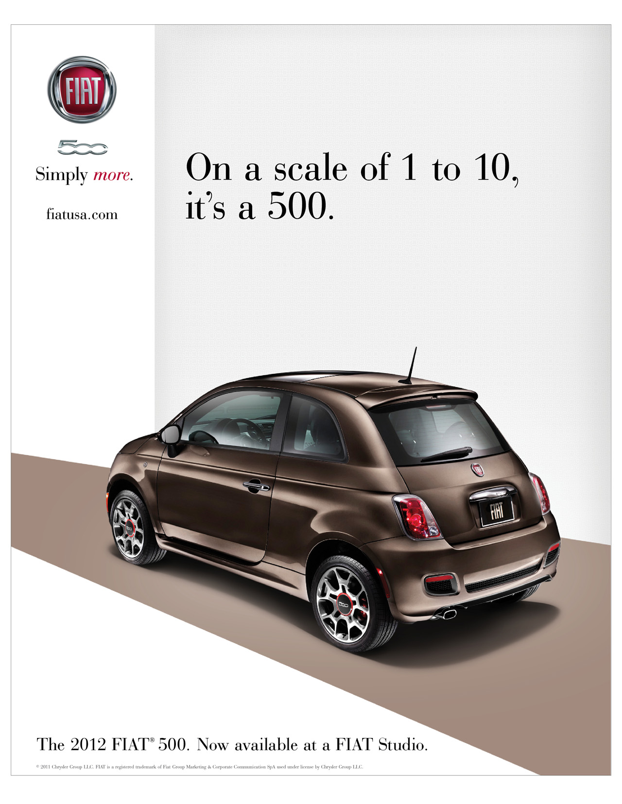 Fiat Commences 500 National Media Onslaught W Video