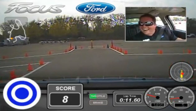 ford focus test drive game