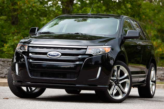 2012 Ford Edge with EcoBoost EPA-rated 30 mpg highway, 21 city