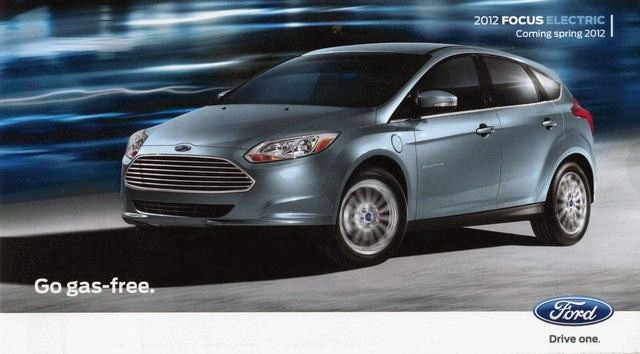 Ford Focus Electric ad