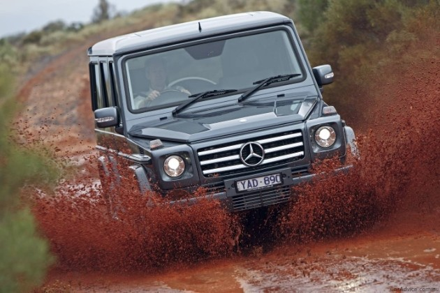 Mercedes-Benz G-Wagon in Australia