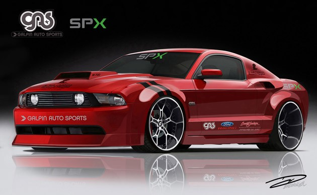 Galpin Widebody Charity Mustang